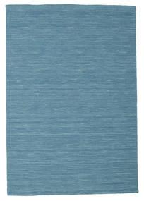 Kilim Loom - Niebieski Dywan 120X180 Nowoczesny Tkany Ręcznie Turkusowy Niebieski/Niebieski (Wełna, Indie)