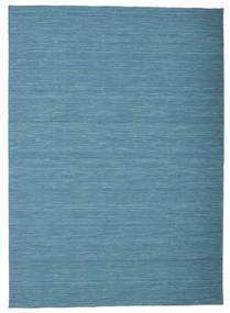 Kilim Loom - Niebieski Dywan 160X230 Nowoczesny Tkany Ręcznie Turkusowy Niebieski/Niebieski (Wełna, Indie)