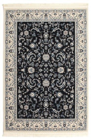 Nain Florentine - Ciemnoniebieski Dywan 160X230 Orientalny Jasnoszary/Beżowy/Czarny ( Turcja)
