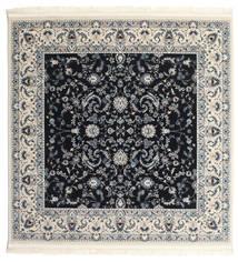 Nain Florentine - Ciemnoniebieski Dywan 150X150 Orientalny Kwadratowy Ciemnoszary/Beżowy ( Turcja)