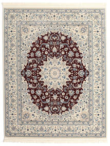 Nain Emilia - Ciemnoczerwony Dywan 200X250 Orientalny Jasnoszary/Ciemnobrązowy ( Turcja)