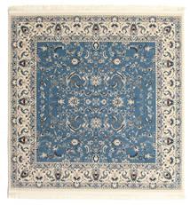Nain Florentine - Jasnoniebieski Dywan 200X200 Orientalny Kwadratowy Beżowy/Niebieski/Jasnoszary ( Turcja)