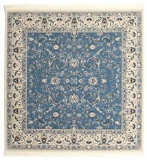 Nain Florentine - Jasnoniebieski Dywan 250X250 Orientalny Kwadratowy Niebieski/Jasnoszary/Beżowy Duży ( Turcja)