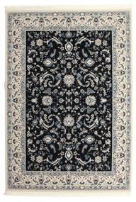 Nain Florentine - Ciemnoniebieski Dywan 300X400 Orientalny Jasnoszary/Beżowy/Czarny Duży ( Turcja)