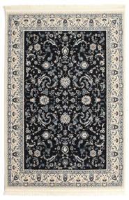Nain Florentine - Ciemnoniebieski Dywan 140X200 Orientalny Jasnoszary/Beżowy/Czarny ( Turcja)