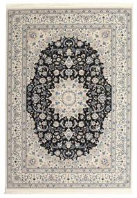 Nain Emilia - Ciemnoniebieski Dywan 300X400 Orientalny Jasnoszary/Beżowy Duży ( Turcja)