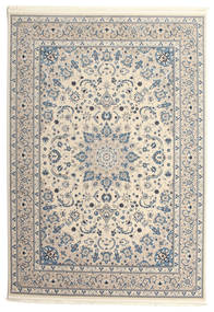 Nain Emilia - Beżowy/Jasny Niebieski Dywan 300X400 Orientalny Jasnoszary/Beżowy Duży ( Turcja)