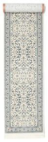 Nain Florentine - Cream Dywan 80X600 Orientalny Chodnik Jasnoszary/Beżowy/Jasnozielony ( Turcja)