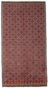 Kilim Pół -Antyk Tureckie Dywan 178X335 Orientalny Tkany Ręcznie Ciemnoczerwony/Różowy (Wełna, Turcja)