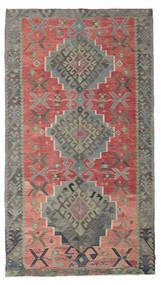 Kilim Pół -Antyk Tureckie Dywan 180X320 Orientalny Tkany Ręcznie Ciemnoszary/Rdzawy/Czerwony (Wełna, Turcja)