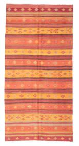 Kilim Pół -Antyk Tureckie Dywan 156X317 Orientalny Tkany Ręcznie Pomarańczowy/Rdzawy/Czerwony (Wełna, Turcja)