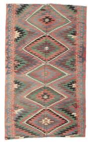 Kilim Pół -Antyk Tureckie Dywan 189X312 Orientalny Tkany Ręcznie Ciemnoczerwony/Ciemnoszary (Wełna, Turcja)