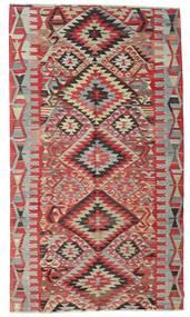 Kilim Pół -Antyk Tureckie Dywan 177X311 Orientalny Tkany Ręcznie Ciemnoczerwony/Jasnoszary (Wełna, Turcja)