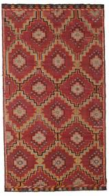 Kilim Pół -Antyk Tureckie Dywan 175X318 Orientalny Tkany Ręcznie Ciemnoczerwony/Ciemnobrązowy (Wełna, Turcja)