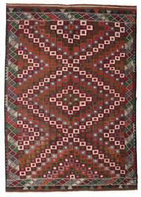 Kilim Pół -Antyk Tureckie Dywan 202X290 Orientalny Tkany Ręcznie Ciemnoczerwony/Ciemnobrązowy (Wełna, Turcja)