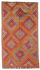 Kilim Pół -Antyk Tureckie Dywan 170X306 Orientalny Tkany Ręcznie Ciemnoczerwony/Brązowy (Wełna, Turcja)