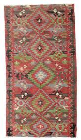 Kilim Pół -Antyk Tureckie Dywan 170X316 Orientalny Tkany Ręcznie Ciemnoczerwony/Zielony/Oliwkowy (Wełna, Turcja)