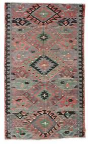 Kilim Pół -Antyk Tureckie Dywan 178X301 Orientalny Tkany Ręcznie Ciemnoszary/Brązowy (Wełna, Turcja)