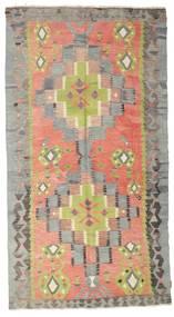 Kilim Pół -Antyk Tureckie Dywan 157X290 Orientalny Tkany Ręcznie Ciemnoszary/Jasnoszary (Wełna, Turcja)