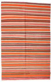 Kilim Pół -Antyk Tureckie Dywan 165X265 Orientalny Tkany Ręcznie Czerwony/Ciemnobeżowy (Wełna, Turcja)