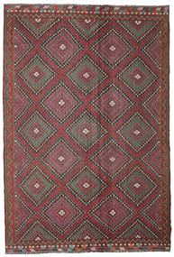 Kilim Pół -Antyk Tureckie Dywan 206X307 Orientalny Tkany Ręcznie Ciemnoczerwony/Ciemnoszary (Wełna, Turcja)