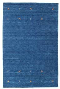 Gabbeh Loom Two Lines - Niebieski Dywan 190X290 Nowoczesny Ciemnoniebieski/Niebieski (Wełna, Indie)