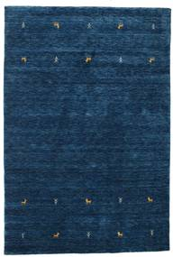 Gabbeh Loom Two Lines - Ciemnoniebieski Dywan 160X230 Nowoczesny Ciemnoniebieski (Wełna, Indie)