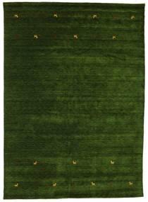 Gabbeh Loom Two Lines - Zielony Dywan 240X340 Nowoczesny Ciemnozielony (Wełna, Indie)