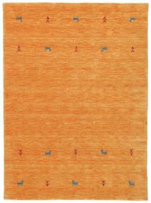 Gabbeh Loom Two Lines - Pomarańczowy Dywan 140X200 Nowoczesny Pomarańczowy (Wełna, Indie)