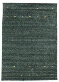 Gabbeh Loom Two Lines - Ciemnoszary/Zielony Dywan 240X340 Nowoczesny Ciemnozielony/Czarny (Wełna, Indie)