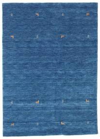 Gabbeh Loom Two Lines - Niebieski Dywan 160X230 Nowoczesny Ciemnoniebieski/Niebieski (Wełna, Indie)