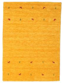 Gabbeh Loom Two Lines - Żółty Dywan 140X200 Nowoczesny Pomarańczowy (Wełna, Indie)