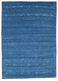 Gabbeh Loom Two Lines - Niebieski Dywan 240X340 Nowoczesny Niebieski/Ciemnoniebieski (Wełna, Indie)