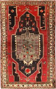 Lori Dywan 152X238 Orientalny Tkany Ręcznie Ciemnobrązowy/Rdzawy/Czerwony (Wełna, Persja/Iran)
