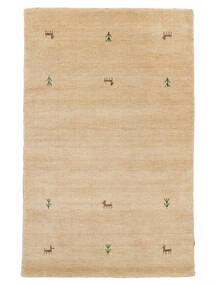 Gabbeh Loom Two Lines - Beżowy Dywan 100X160 Nowoczesny Ciemnobeżowy/Jasnobrązowy (Wełna, Indie)
