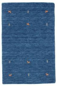 Gabbeh Loom Two Lines - Niebieski Dywan 100X160 Nowoczesny Ciemnoniebieski/Niebieski (Wełna, Indie)