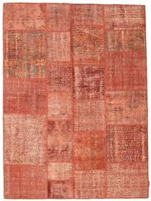 Patchwork Dywan 171X233 Nowoczesny Tkany Ręcznie Czerwony/Jasnoróżowy (Wełna, Turcja)