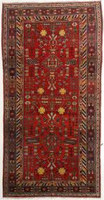 Taspinar Dywan 171X342 Orientalny Tkany Ręcznie Chodnik Ciemnoczerwony/Rdzawy/Czerwony (Wełna, Chiny)