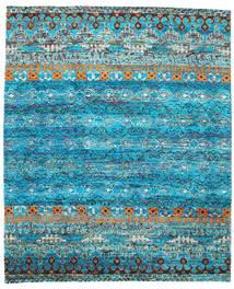 Quito - Turkusowy Dywan 240X290 Nowoczesny Tkany Ręcznie Turkusowy Niebieski/Niebieski (Jedwab, Indie)