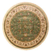 Sarina - Zielony Dywan Ø 200 Nowoczesny Okrągły Beżowy/Ciemnoszary ( Turcja)