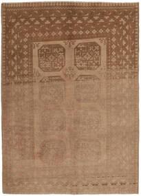 Afgan Dywan 154X236 Orientalny Tkany Ręcznie Brązowy (Wełna, Afganistan)