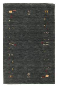 Gabbeh Loom Frame - Ciemnoszary/Zielony Dywan 100X160 Nowoczesny Ciemnozielony (Wełna, Indie)