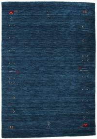 Gabbeh Loom Frame - Ciemnoniebieski Dywan 140X200 Nowoczesny Ciemnoniebieski (Wełna, Indie)