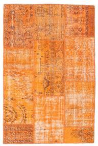 Patchwork Dywan 121X184 Nowoczesny Tkany Ręcznie Pomarańczowy (Wełna, Turcja)