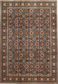 Varamin Patina Dywan 200X287 Orientalny Tkany Ręcznie Ciemnoszary/Jasnobrązowy (Wełna, Persja/Iran)