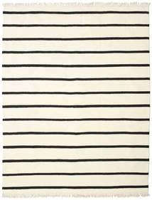 Dorri Stripe - White/Czarny Dywan 200X250 Nowoczesny Tkany Ręcznie Beżowy/Biały/Creme (Wełna, Indie)