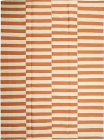 Kilim Nowoczesne Dywan 232X315 Nowoczesny Tkany Ręcznie Beżowy/Pomarańczowy (Wełna, Persja/Iran)