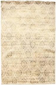 Damask Dywan 180X273 Nowoczesny Tkany Ręcznie Beżowy ( Indie)