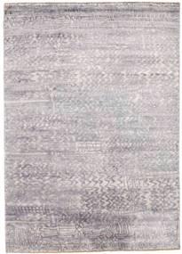 Damask Dywan 175X246 Nowoczesny Tkany Ręcznie Jasnoszary/Beżowy ( Indie)
