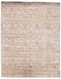 Damask Dywan 240X307 Nowoczesny Tkany Ręcznie Jasnoszary/Biały/Creme ( Indie)